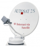 AutoSat 2S 85 Control Internet / Single TV