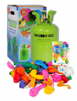 Helium-Ballon-Kit Balloon Gaz 30