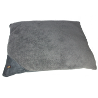 AFP Lambswool Pillow Bed L Grau