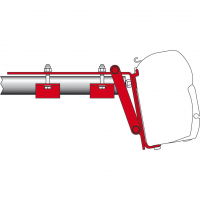 Universaladapter Kit Roof Rail
